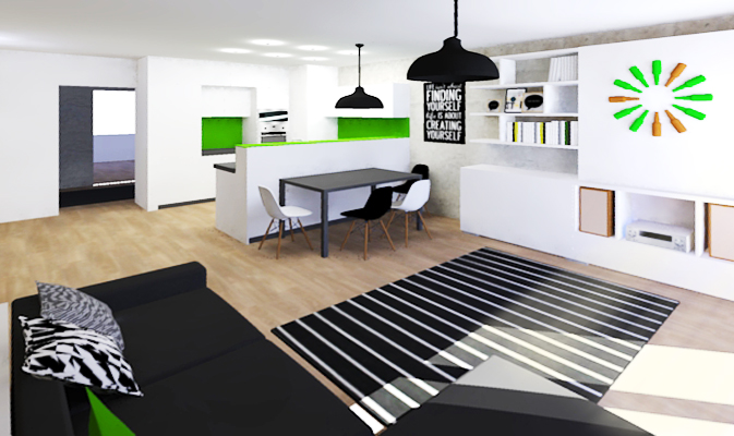 studio29, interier Břevnov