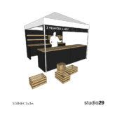 studio29, stánek