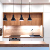 studio29, byt pro dva na vinohradech, kuchyne